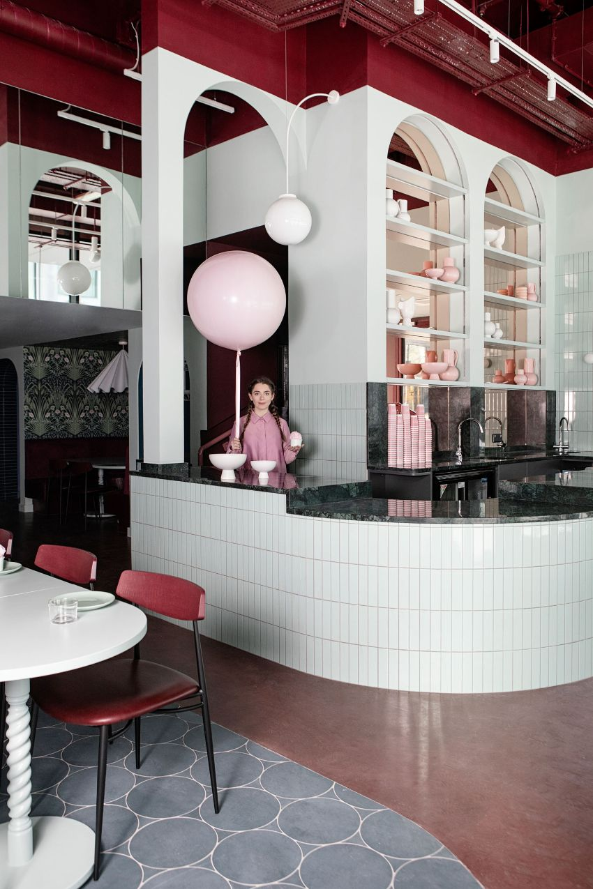 Cinnamon - A Pastel Paradise Restaurant Designed by Kingston Lafferty Design   Cinnamon A Pastel Paradise Restaurant Designed Kingston Lafferty Design 10