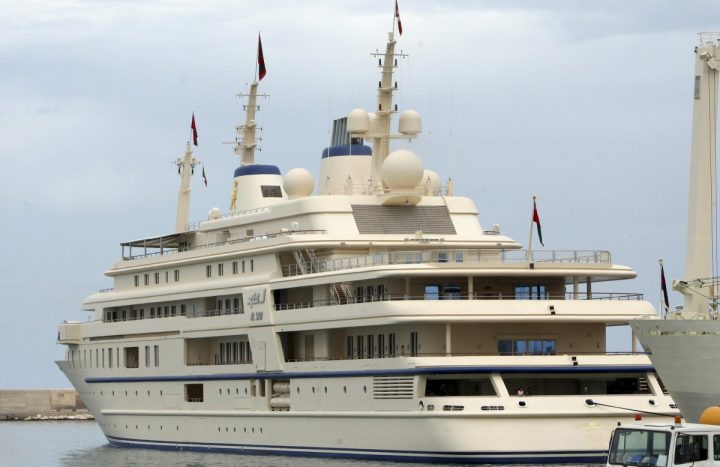 The Top 10 Luxury Yachts You Need to Know The Al Said yacht 720x467