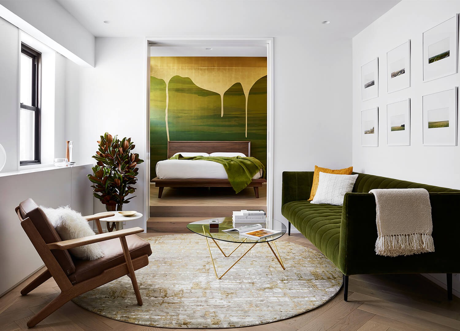 Interior Design Project Brings Nature Inside This New York Apartment green design ideas inspirations11