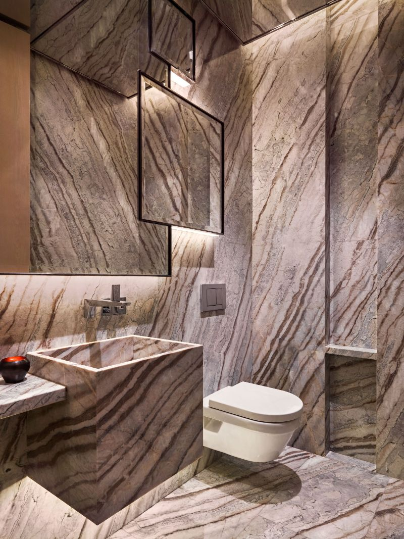 Incredible Bathroom Design Trends For 2021 Unraveling Marbles Splendid Duality in LuxuryInteriors 3