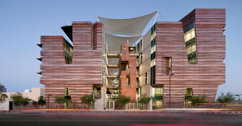 Perpetually Pioneering, Modern Architecture Projects By CO Architects Phoenix Biomedical Campus