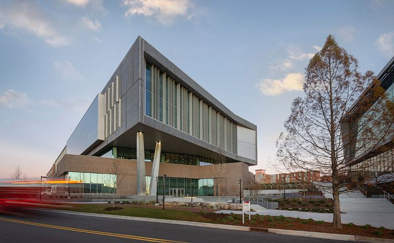 10 Exciting Architectural Buildings From Clark Nexsen   fitts woolard engineering building 1200