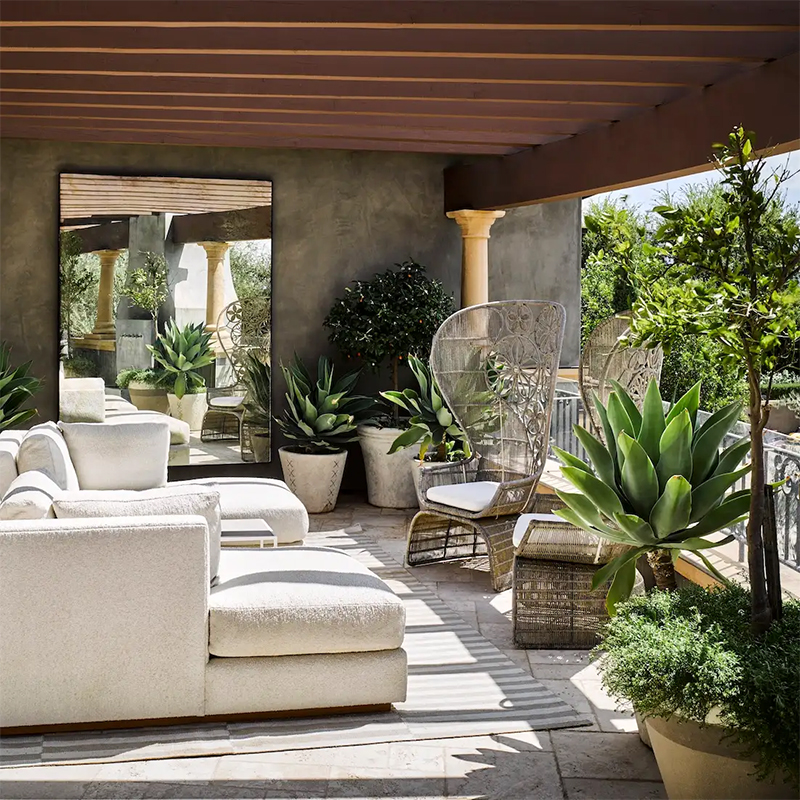 Martyn Lawrence Bullard - Eclectic And Welcoming Residences Calabasas Modern 1 co pia