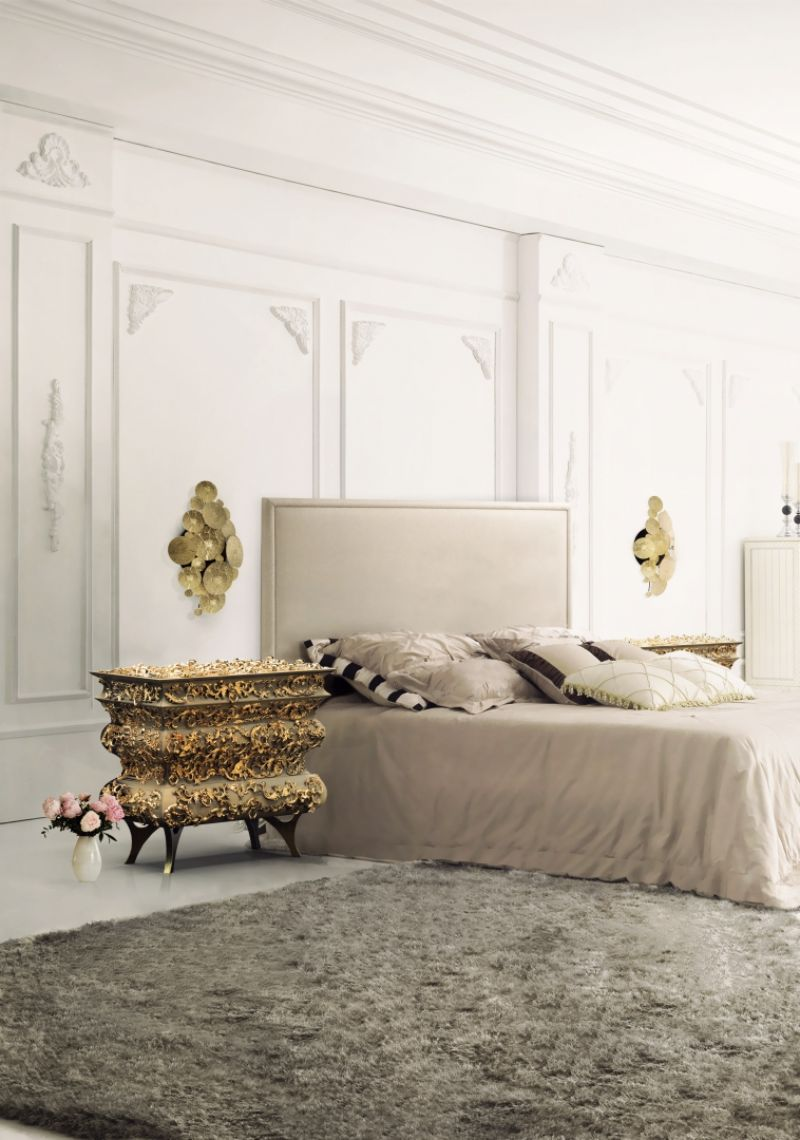 Luxury Bedroom Ideas - Your Private Oasis In Rainy London   artful master bedroom