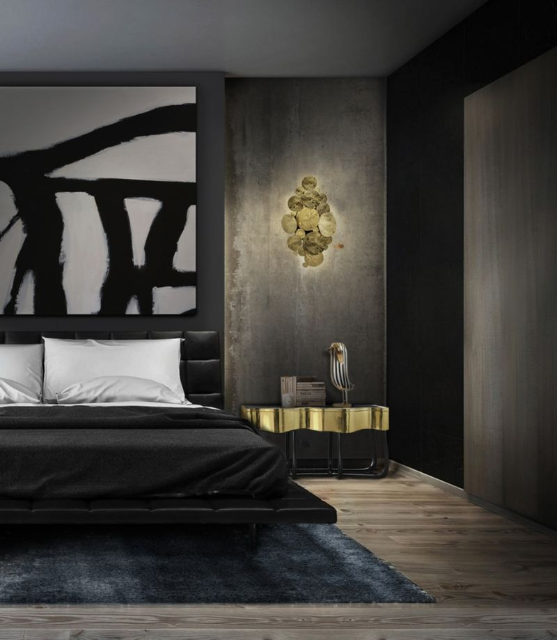 Luxury Bedroom Ideas - Your Private Oasis In Rainy London   bold and minimalistic