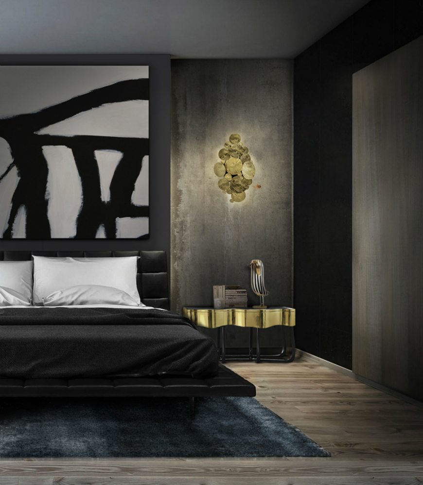 10 Exclusive Bedside Tables for your Master Bedroom Decor - Sinuous Nightstand by Boca do Lobo   sinuous 41