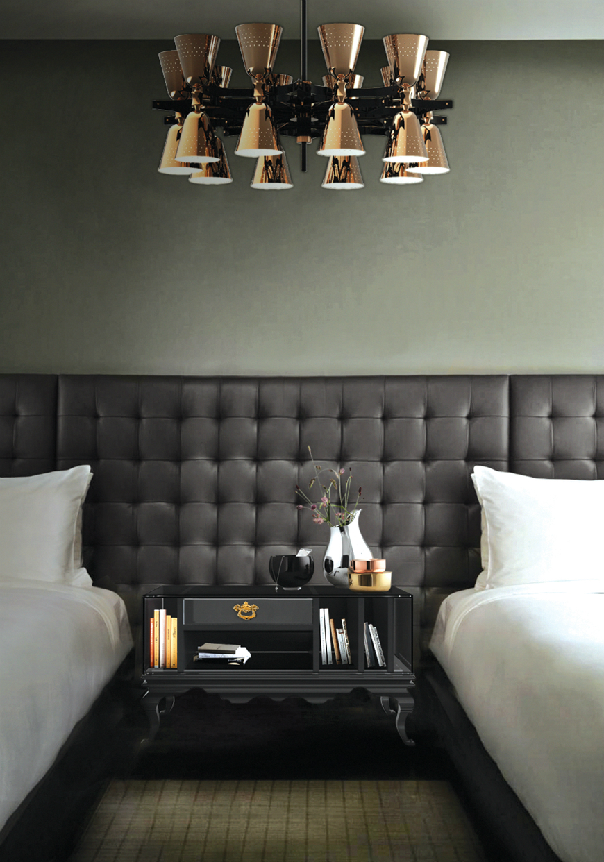 10 Exclusive Bedside Tables for your Master Bedroom Decor - Tower Nightstand by Boca do Lobo   tower 4