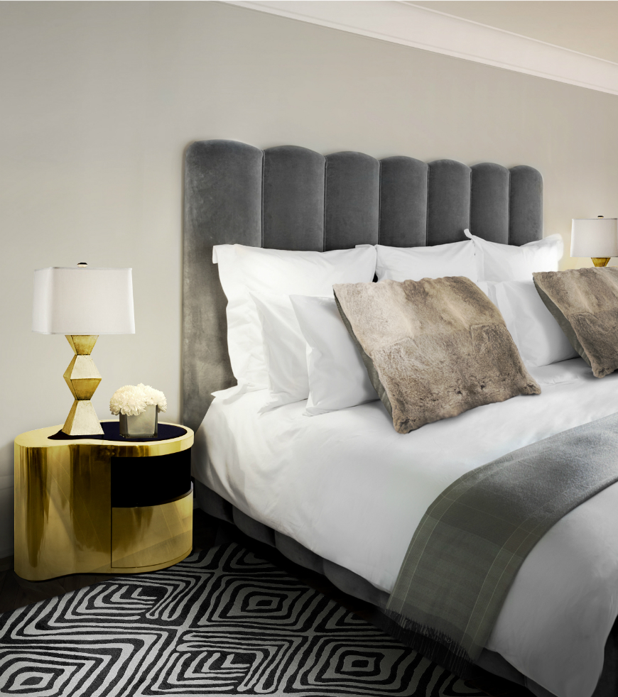 10 Exclusive Bedside Tables for your Master Bedroom Decor - Wave Nightstand by Boca do Lobo   wave nightstand cover