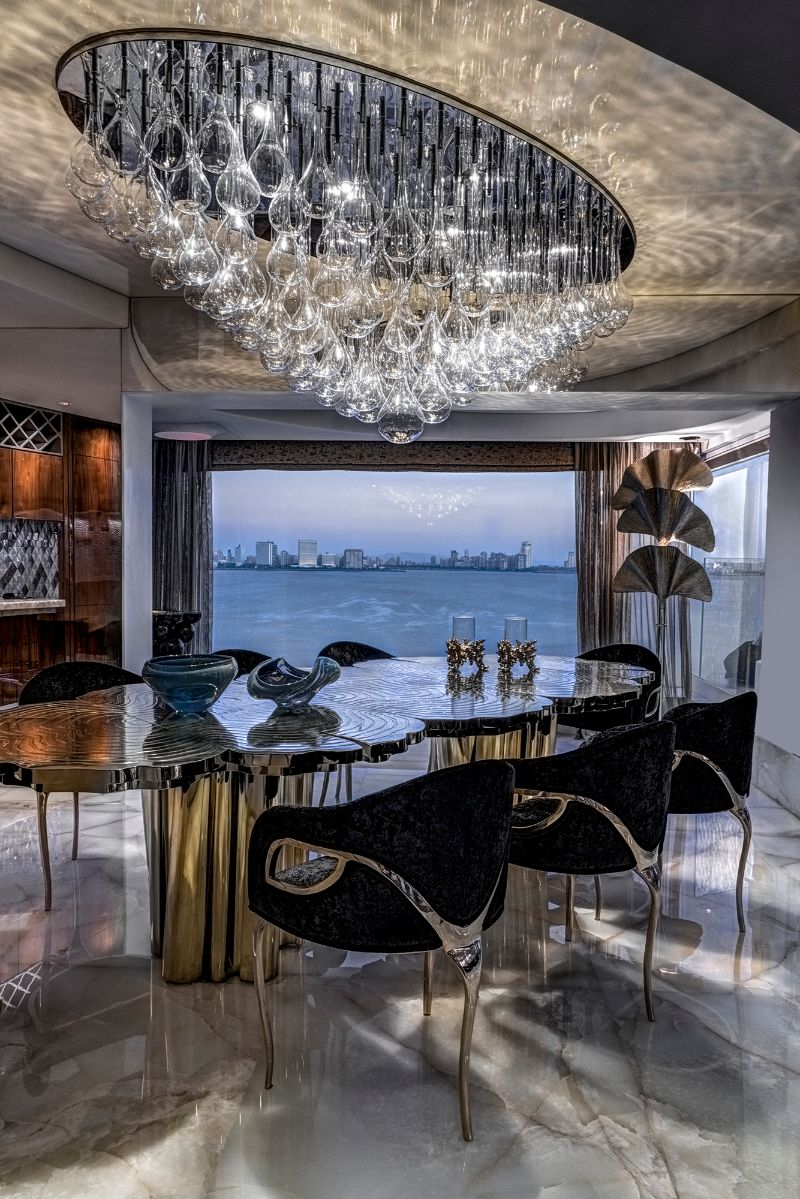 ZZ Architects Design Projects: A Luxury Apartment in Mumbai